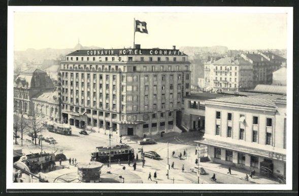 AK Geneve, Hotel Cornavin 0