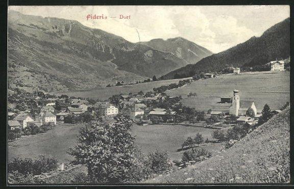 AK Fideris-Dorf, Panorama 0