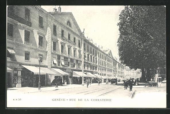 AK Geneve, Rue de la Corraterie 0