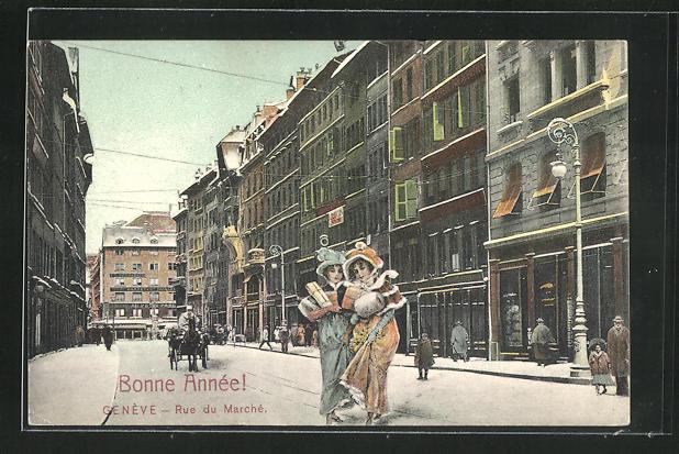 AK Geneve, Rue du Marche 0