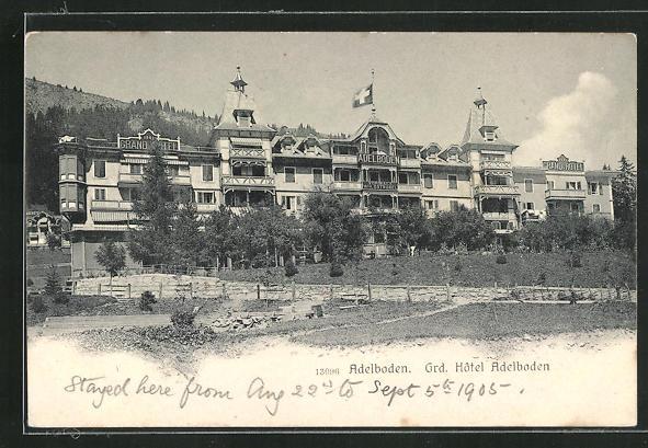 AK Adelboden, Grd. Hôtel Adelboden 0