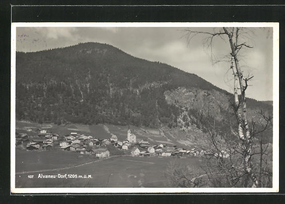 AK Alvaneu Dorf, Gesamtansicht 0