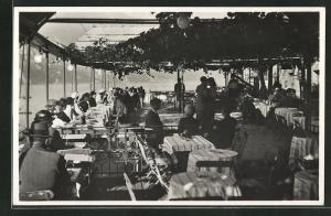 AK Lugano, Ancien Restaurant Caprino, Terasse