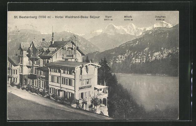 AK St. Beatenberg, Hotel Waldrand-Beau Séjour 0