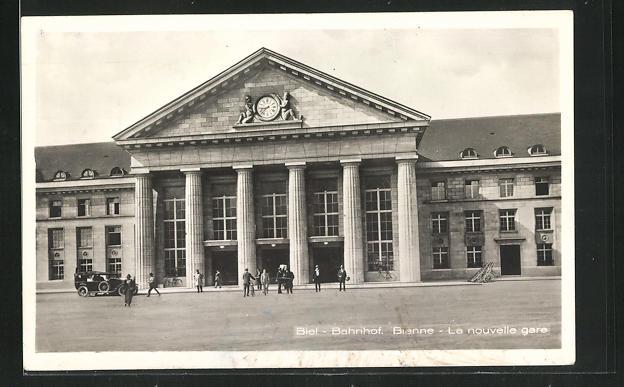 AK Biel, Bahnhof 0