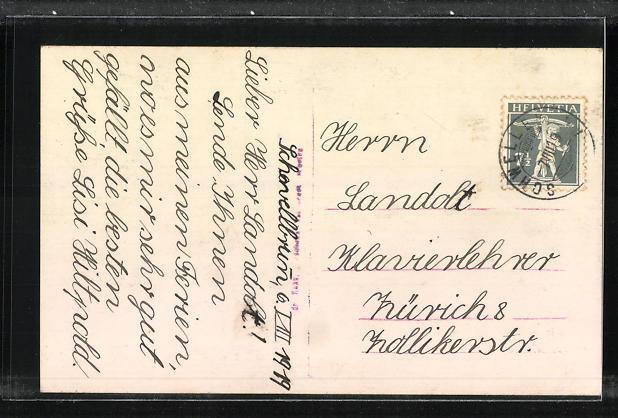 AK Schwellbrunn, Teilansicht mit dem Säntis 1