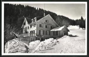AK Flums-Grossberg, Kurhaus Tschudiwiese im Winter