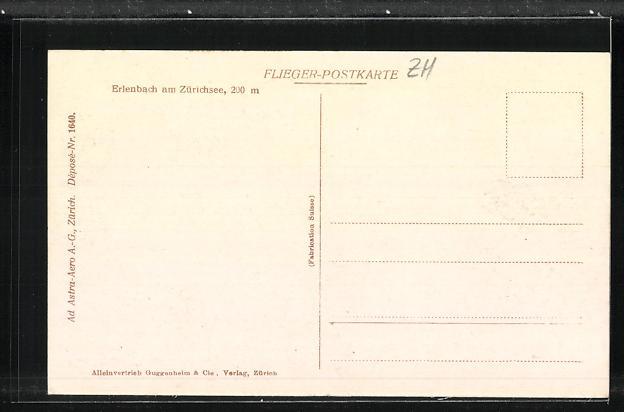 AK Erlenbach am Zürichsee, Ortsansicht 1