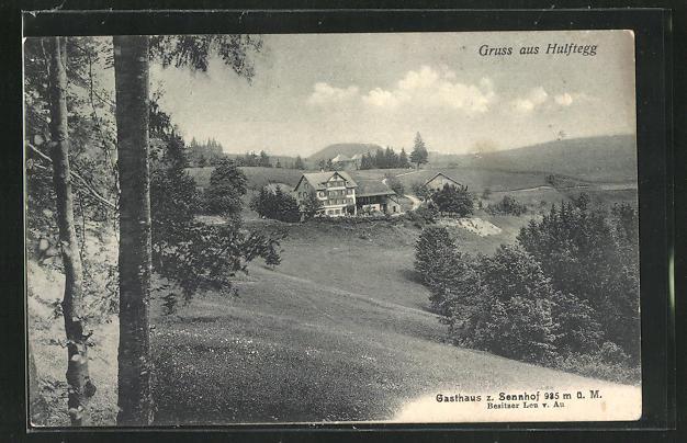 AK Hulftegg, Gasthaus zum Sennhof 0