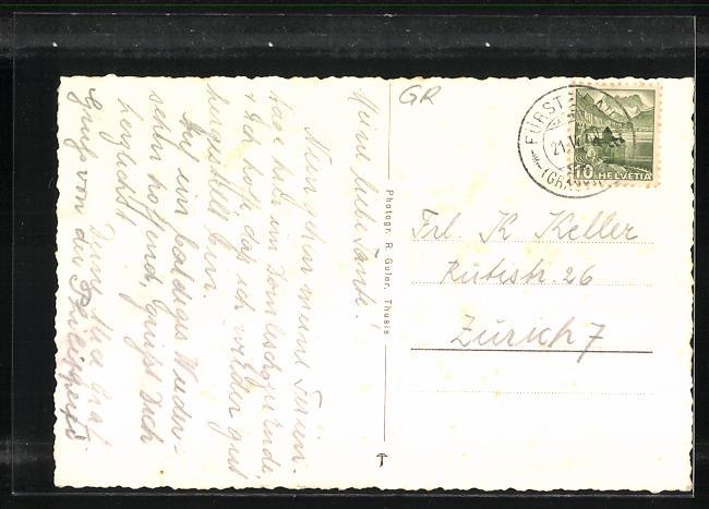 AK Fürstenau, Ortsansicht 1