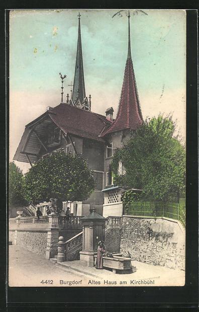 AK Burgdorf, Altes Haus am Kirchbühl 0
