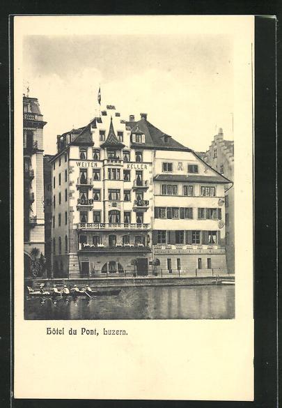 AK Luzern, Hôtel du Pont 0