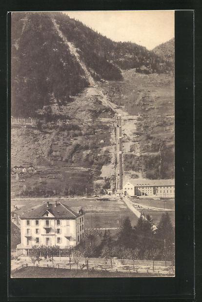 AK Piotta, Hôtel de la Poste, Funicolare al Ritom, Bergbahn 0