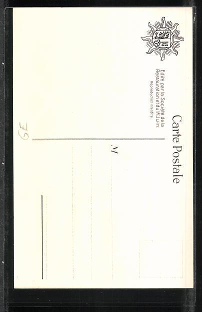 Künstler-AK Geneve / Genf, Restauration de la Republique, Préparatifs pour la Revue 1814 1