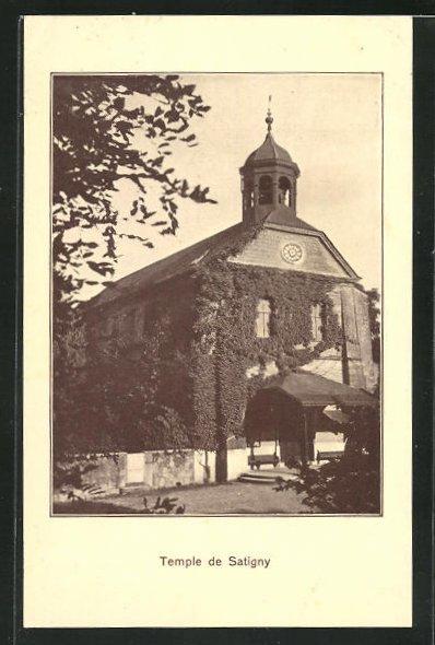 AK Satigny, Temple, Kirche 0