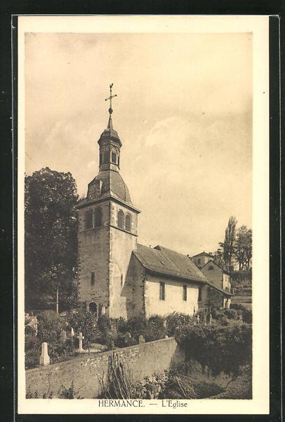 AK Hermance, L`Eglise, Kirche 0