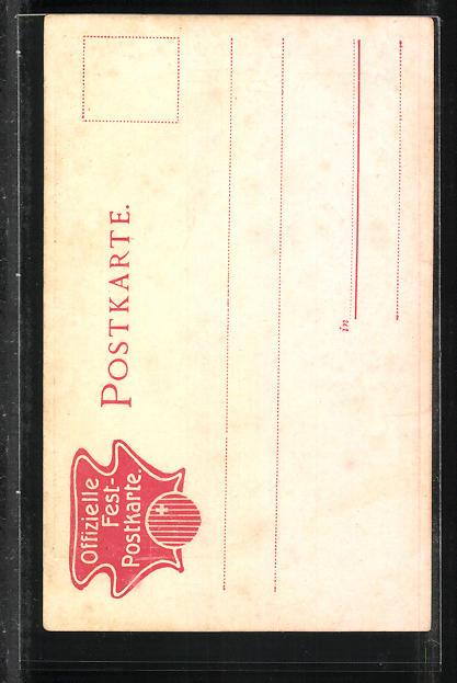 AK Schwyz, XVI. Kantonal-Schützenfest 1905, Trachten 1