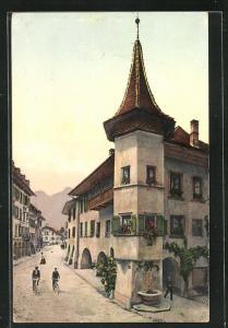 AK Thun, Altes Haus am Rosengarten