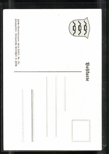 AK Herrliberg, Wappen des Geschlechts von Herrliberg 1