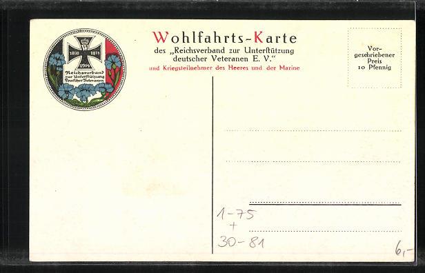 AK Zweibund, Portrait von Kaiser Franz Josef I. von Österreich mit Kaiser Wilhem II. 1