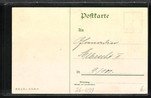 Künstler-AK Bruno Bürger & Ottillie Nr. 7510: Löhnungs Appell 1