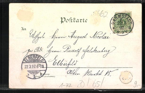 AK Zur Erinnerung an die Gedächtnisfeier des 100. Geburtstages Sr. Maj. Weiland Kaiser Wilhelm I. 1797-1897 1