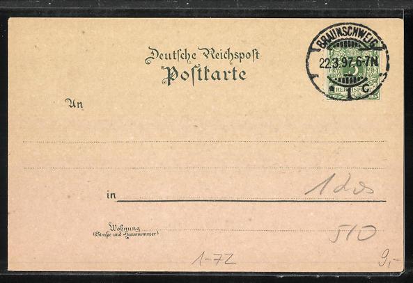 AK Zur 100 jährigen Jubelfeier des Geburtstages Kaiser Wilhelms des Grossen 1797-1897 1
