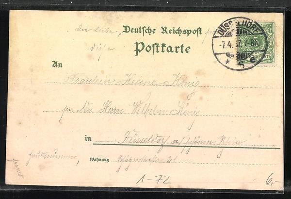 Relief-AK Erinnerungsgruss d. Nationalfeier aus Anlass des 100 jähr. Geburtstages Sr. Maj. Kaiser Wilhelm I. 1797-1897 1