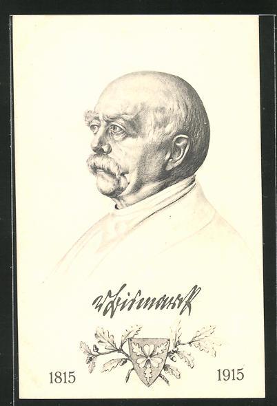 AK Portrait Fürst Otto von Bismarck 0