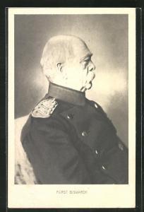 AK Fürst Bismarck in Uniform