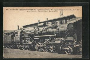 AK 1 C+C Heissdampf-Vierzylinderverbund-Mallet-Güterzug-Lok der Ungar. Staatseisenbahn, Serie 601