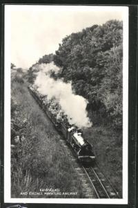 AK Ravenglass and Eskdale Miniature Railway, englische Kleinbahn