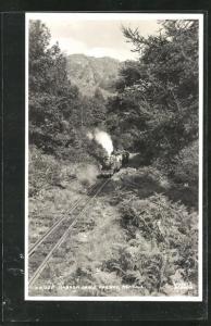 AK Eskdale, Narrow Gauge Railway, englische Kleinbahn
