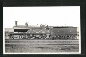 Foto-AK Lokführer auf der englische Eisenbahn der MR No. 2209