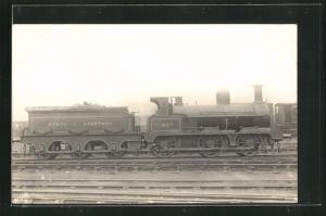 AK Englische Eisenbahn No. 65A mit Kohle-Waggon