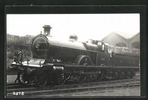 AK englische Eisenbahn der Gesellschaft MR mit Kennung 2631 im Bahnhof
