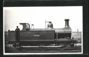 AK englische Eisenbahn mit Kennung 1424 und Lokführer