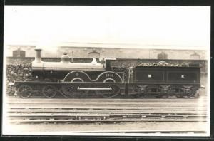 AK Englische Eisenbahn No. 1341 mit Kohlen-Waggon