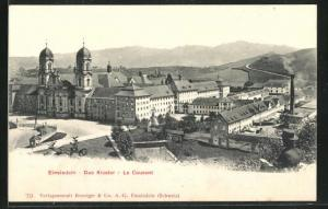 AK Einsiedeln, Blick auf das Kloster