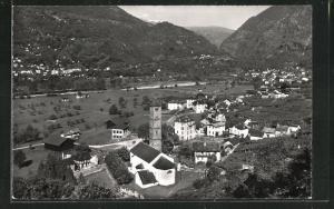 AK Malvaglia, Ortspartie im Gebirge