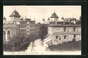 AK Caux, Route de Glion et le Palace Hotel