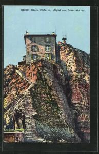 AK Appenzell, Gipfel und Observatorium Säntis