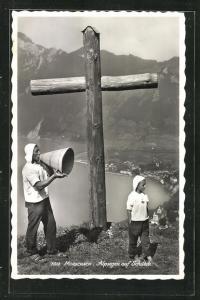 AK Morschach, Alpsegen auf Schilteli