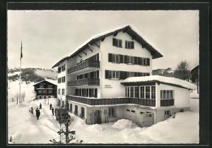 AK Oberiberg, Schweizer Gesellenhaus im Winter