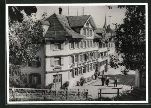 AK Schwellbrunn / App., Gasthaus und Pension zum Kreuz