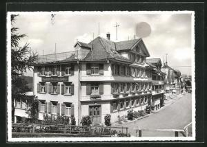 AK Schwellbrunn / App., Gasthaus & Pension zum Kreuz