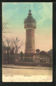 AK Schlettstadt, Wasserturm