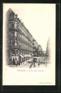 AK Toulouse, La Rue Alsace-Lorraine