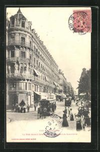 AK Toulouse, La Rue Alsace-Lorraine au Carrefour Lafayette