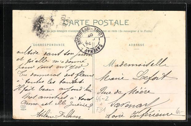 AK Toulouse, La Rue Alsace-Lorraine, Carrefour de la Pomme, Pferdebahn 1